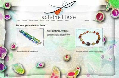 schöneliese design Grün-goldenes-Armband