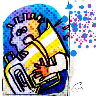 J.Savin, GroovyGrafille, Musiker
