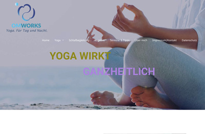 Omworks Yoga für Tag und Nacht. Yoga wirkt ganzheitlich